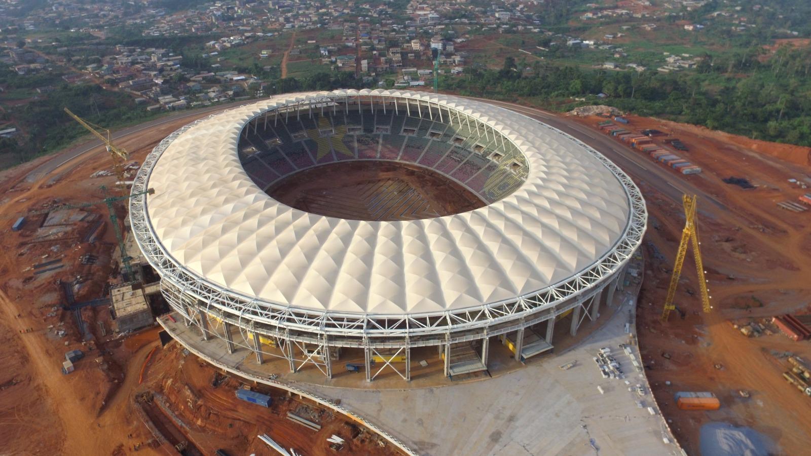 Stade d'Olembe : nouveau rebondissement, sortie de Magil, retour de Piccini